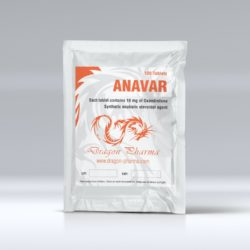 Anavar 10 MG by Dragon Pharmaceuticals
