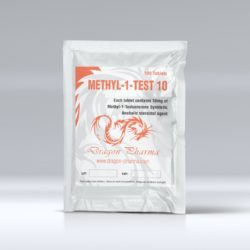 Methyl-1-Test 10 by Dragon Pharmaceuticals