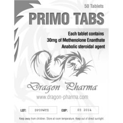 Primo Tabs by Dragon Pharmaceuticals